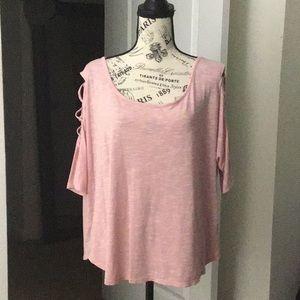 Pink Half Sleeve Design 👚